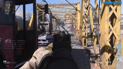 Call of Duty: Modern Warfare - Team Deathmatch Euphrates Bridge Gameplay