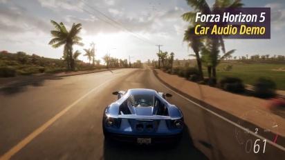 Forza Horizon 5: In-Game Car Audio - Preview Trailer