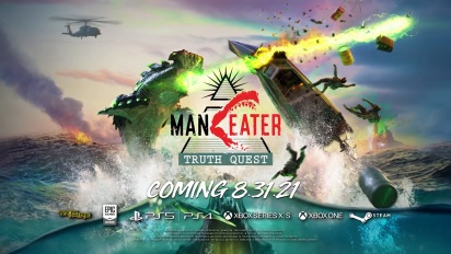 Maneater: Truth Quest - Release Date Announcement Trailer