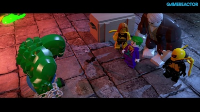 Lego Batman 3: Beyond Gotham - First Hour PS4 Gameplay