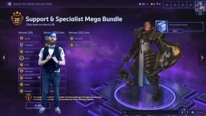 Heroes of the Storm 2.0 - Mega Bundle Video #3 (Support & Specialist)