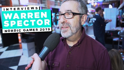 Nordic Game 19 - Warren Spector Interview