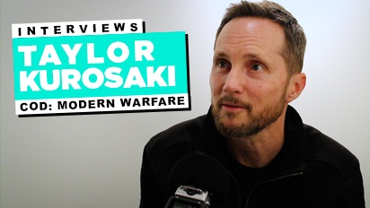 Call of Duty: Modern Warfare - Taylor Kurosaki Interview