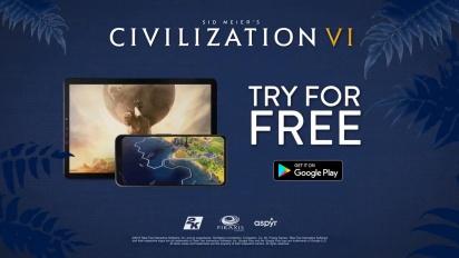 Civilization VI - Android Launch Trailer