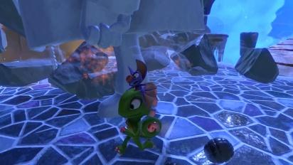 Yooka-Laylee - Glitter Glaze Glacier Gameplay