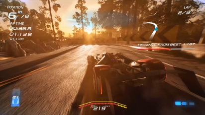 Xenon Racer - Reveal Trailer