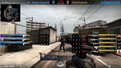 OMEN by HP Liga - Div 7 Round 3 - El - Sadoor Esports vs Taika Esports - Overpass.