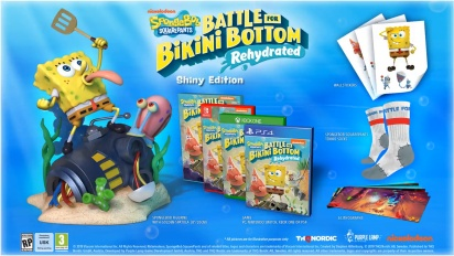 SpongeBob SquarePants: Battle for Bikini Bottom - Rehydrated - Shiny Edition Trailer