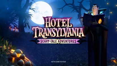Hotel Transylvania: Scary-Tale Adventures | Teaser Announce Trailer UK