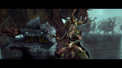 Total War Warhammer - Introducing Glade Lord and Forest Dragon