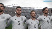 PES 2018 - Gameplay Demo Argentina vs Germany