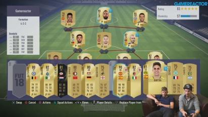 FIFA 18 - Gamereactor's FIFA Ultimate Team (#5)