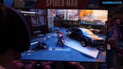 Spider-Man - E3 Showfloor Gameplay