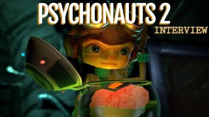 Psychonauts 2 - Tim Schafer and Geoff Soulis Interview