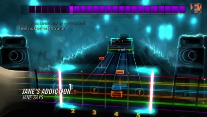 Rocksmith 2014 - DLC - 2014 Jane's Addiction Trailer