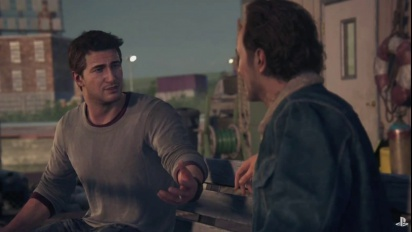 Uncharted 4 Cutscene - Nathan meets his brother