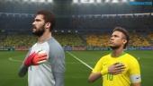 Pro Evolution Soccer 2018 - Data Pack 4.0 Full Match: Brazil-Spain