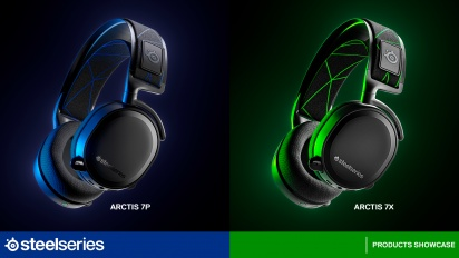 Steelseries Arctis 7X & 7P - Product Showcase