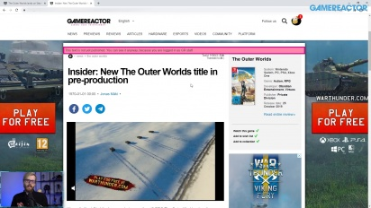 GRTV News - Outer Worlds 2 is in pre-production?