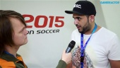 Pro Evolution Soccer 2015 - Adam Bhatti Interview