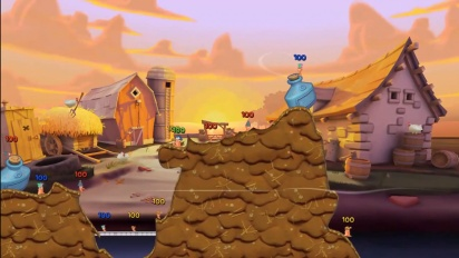 Worms 3 - Christmas Update Trailer