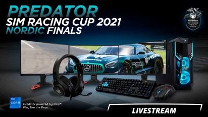 Acer Predator Sim Racing Cup 2021 Nordic Finals Livestream Final
