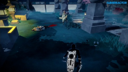 Aragami - Full Chapter I Rank S Gameplay on PS4