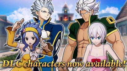 Fairy Tail - DLC Characters