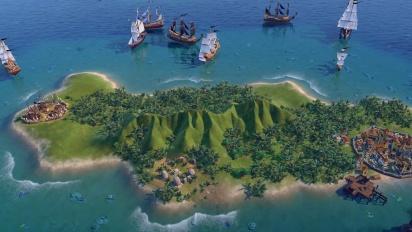 Civilization VI - Developer Update - Free Game Update #3 - Pirates! - October 2020