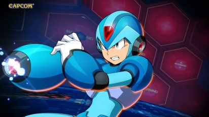 Mega Man X Dive - Announcement Trailer