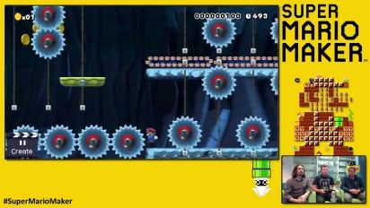 Super Mario Maker - Buzzthrill by Playtonic Games
