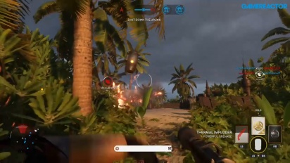 Star Wars Battlefront - Rogue One: Scarif Gameplay #1