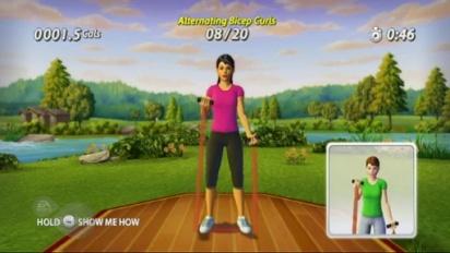 EA Sports Active - Customization Walkthrough Trailer