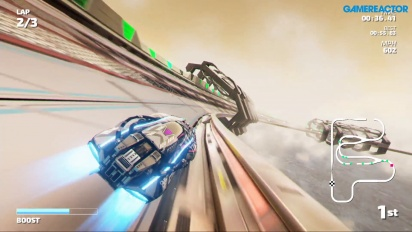 Fast RMX - The Haze Nintendo Switch Gameplay