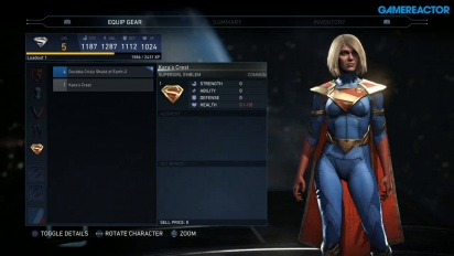 Injustice 2 - Mother-Boxes and Gear Setup