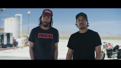 Cyberpunk 2077 - Behind the Scenes: Arch Motorcycle with Keanu Reeves and Gard Hollinger