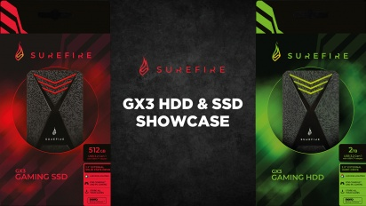 SureFire GX3 HDD & SSD Showcase (Sponsored)