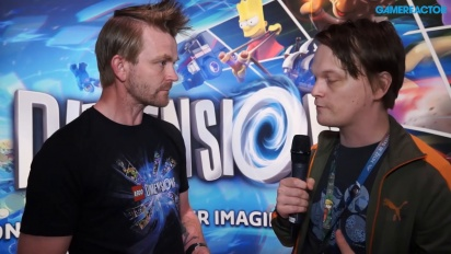 Lego Dimensions: Year Two - Arthur Parsons Interview