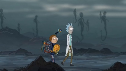 Death Stranding - Rick and Morty ad