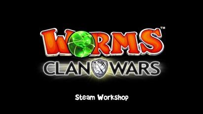 Worms Clan Wars - Steam Workshop Integration Trailer