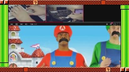 Super Mario Maker - Let's Super Mario Thank You 30th Anniversary Video