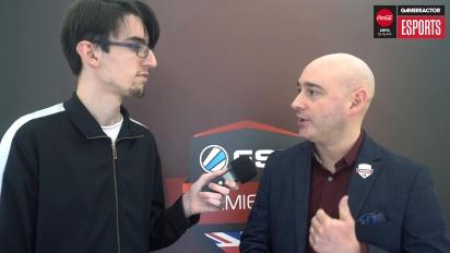 ESL UK Premiership Finals - Matt Andrews Interview