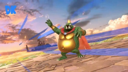 Super Smash Bros. Ultimate - King K. Rool gameplay