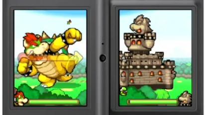Mario & Luigi: Bowser's Inside Story - GC 09: Trailer