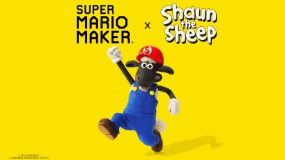 Super Mario Maker - Shaun The Sheep Trailer