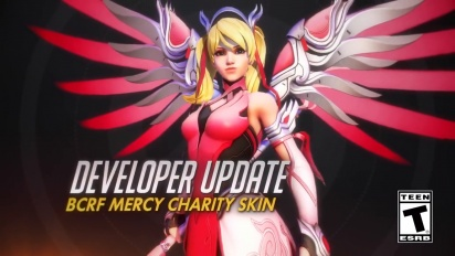 Overwatch - Developer Update: Pink Mercy Charity Event