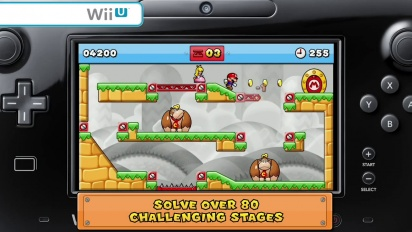 Mario vs Donkey Kong: Tipping Stars Launch Trailer