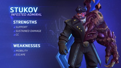 Heroes of the Storm - Admiral Stukov Hightlight