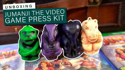 Jumanji: The Video Game - Press Kit Unboxing