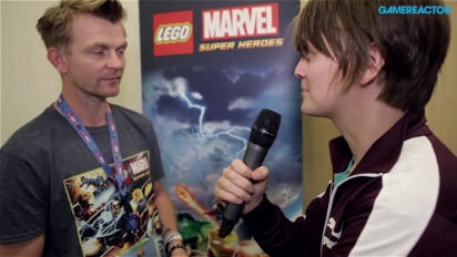 GC 13: Lego Marvel Super Heroes - Characters Interview